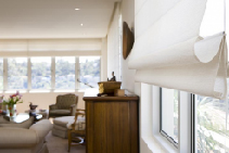 Benefits of Custom Motorised Roman Blinds from Blinds by Peter Meyer
