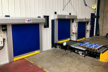 Rapid Roll Doors for Conveyor Applications from DMF