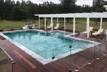 Comerong Island Pool Installation with LATICRETE
