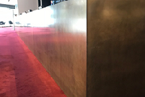 Mid Tone Aged Brass Substrates Adelaide by Astor Metal Finishes