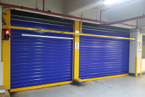 PVC Fast Action Roller Shutter Doors from DMF