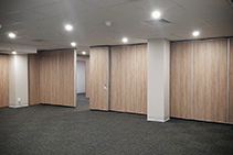 Operable Walls for Wesley Mission Conference Venue by Bildspec