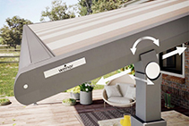 Patio Roof Awnings by Weinor from Undercover Blinds