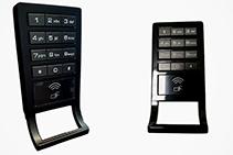 Digital Locker Locks in Modern Matte Black from KSQ