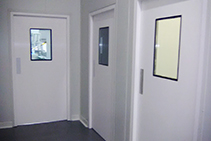 Hygienic Doors with Fire Rating from Premier Door Systems