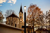 Public Area Lighting for St Nikolaus Parish Garden from WE-EF