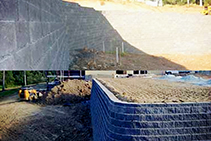 Segmental Block Reinforced Retaining Walls from Concrib