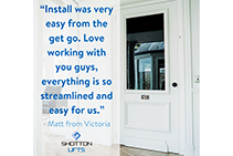 Streamlined Residential Lift Supply by Shotton Lifts