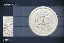 550mm Ceiling Rose - 09 by CHAD Group