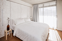 Contemporary Window Furnishings for Hotels by Solis Products