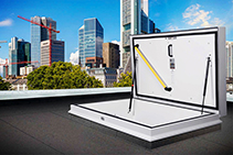 Electrical Aluminium Roof Hatches from Gorter Hatches
