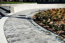 Granite Stone Streetscape Completed by LATICRETE