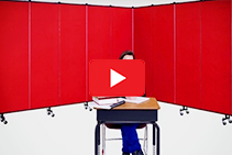 Stylish Portable Screens Available from The Partition Company