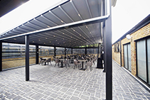 Retractable Fabric Roof Systems from Designer Shade Solutions