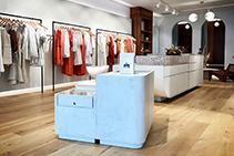 Concrete-look Overlay for Retail Fitouts by Danlaid