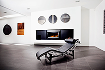 High-performance Gas Fireplaces from Cheminees Chazelles