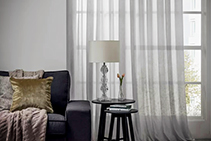Sheer Curtain Fabrics & Design Sydney by Current Line Europe