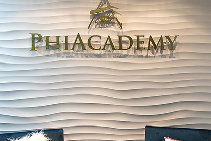 Luxury Wall Panels on Point at PhiAcademy by 3D Wall Panels