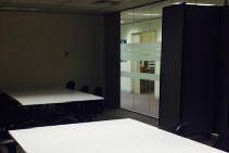 Sliding Office Partitions for Meeting Rooms from Portable Partitions
