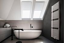 Elegant Bathroom Radiators - AGAVE by dPP Hydronic Heating