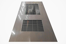 Chemical Resistant Ventilation Louvres for Doors from Allplastics