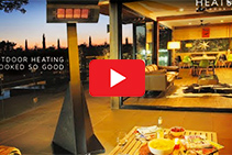 Outdoor Heaters for Outdoor Entertaining Areas from Thermofilm