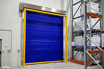Insulated High Speed Roll Doors by DMF
