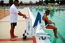 Mobility Access Lifts for Pools from RAiSE Lift Group