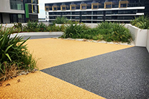 Resin-Bonded Stone Surfaces - DriveTec™ by WaterPave
