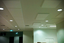 Sound Dampening for Healthcare from Acoustic Answers