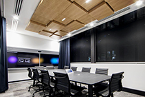 3D Ceiling Tiles & Aluminium Slats for the CSIRO by SUPAWOOD
