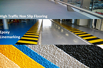 Industrial Non-Slip Epoxy Flooring from Poly-Tech