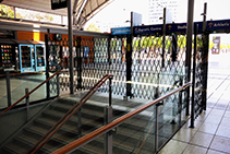 Pedestrian Barriers for Transit Access Control from Trellis Door Co
