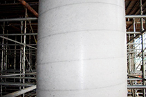 Tubular Formwork for Large-scale Concrete Columns by Sonoco