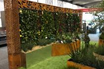 FormBoss Metal Garden Edging at Melbourne Home Show