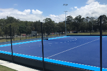 Glass Reinforced Polyester Drainage Channels in Gold Coast Hockey Centre by Hydro