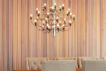 Two-Tone Cedar Interior Panels from Hazelwood & Hill