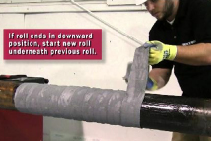 Bellis Corrosion Control with Trenton Wax-Tape® Wrap System