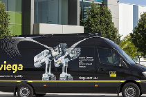 Commercial Piping Mobile Training Showroom from Viega