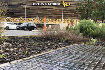 Ductile Iron Multipart Access Covers at Optus Stadium from EJ