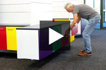 Easy Commercial Cabinet System Installation with Ankor