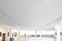 Seamless Perforated Acoustic Plasterboard Ceilings by Atkar
