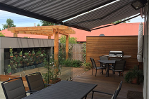Semina Folding Arm Awning Applications in the Shoalhaven from Blinds by Peter Meyer