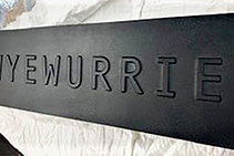 Custom Bronze Plaque House Signs from Architectural Signs