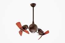Industrial Inspired Rotational Ceiling Fans from Atlas Fans
