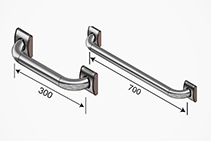 Commercial Grab Rails - OT Grip from Hand Rail Industries