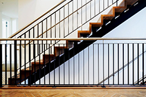 Designer Merbau Staircases for Apartments by S&A Stairs