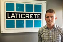 New Technical Sales Representative Corey Downes at LATICRETE