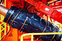 Jet Fire Resistance Tested Pipe Insulation from Bellis Australia