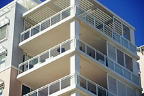 Opening Roof Systems for Apartment Balconies by Vergola